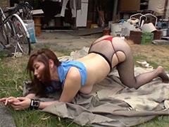 翔田千里の調教動画