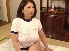 熟女の体操服ブルマプレイ