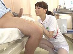 患者の勃起力に仕事を忘れちゃう看護師